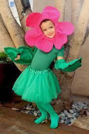 my flower felt pink flower halloween costume