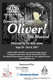 drama review lionel bart u0027s oliver musical nick murillo
