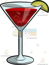 halloween martini clipart a cosmopolitan cocktail cartoon clipart vector toons