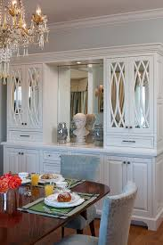 dining room buffets mirrored buffet mirrored vanity esf furniture