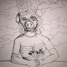 mythical beast wars the pig faced women old europe u0027s famed hog