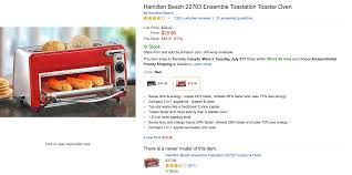 Toaster Ovens With Toaster Slots Home Hamilton Beach Dual Toaster Oven 30 Reg 50 More