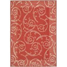 Pink Indoor Outdoor Rug Safavieh Oasis Scrollwork Terracotta Indoor Outdoor Rug