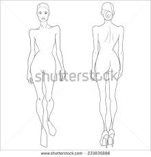 royalty free sketch of fashion models templates for u2026 516923647