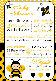 mommy to bee baby shower invitations ideas bumble bee baby