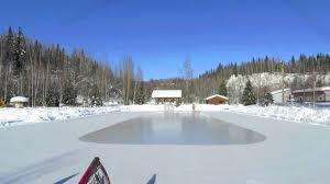 time lapse ester ice rink resurfacing youtube