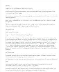 medical radiation technologist resume template nuclear medicine