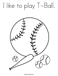 play ball coloring twisty noodle