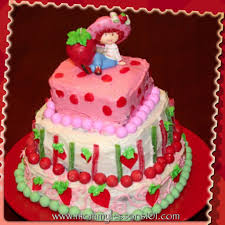 Mommy Lessons 101 Strawberry Shortcake Birthday Party Ideas and Cake