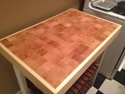 Butcher Block Kitchen Islands Ana White Kitchen Island Butcher Block Diy Projects