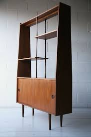 Teak Mid Century Modern Furniture by 1960s Teak Room Divider Mid Century Modern Display Cabinet