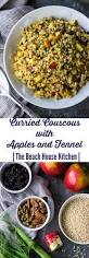 curried couscous with apples and fennel the beach house kitchen