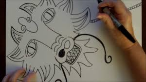 how to draw a dragon step by step drawing tutorial free art lesson