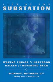 Map Ballard Seattle by Waking Things Heptagon Baleen Reverend Bear At Substation In