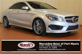 mercedes cla45 amg for sale used 2014 mercedes 45 amg for sale in fort myers fl
