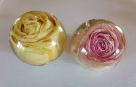 wedding flowers paperweight paperweight made from your flowersforever in time