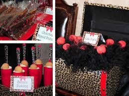 cheetah print party supplies by design client party leopard print 16th birthday