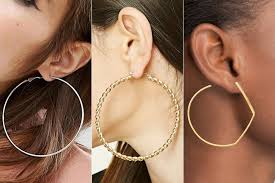rihanna hoop earrings the oversized hoop earrings kendall jenner and rihanna can t stop