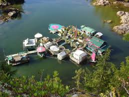 floating island self sufficient home produces food power urbanist