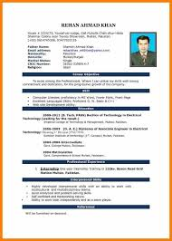 simple resume format simple cv format c45ualwork999 org