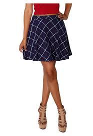 forever 21 tartan flared skirt shop ladies skirts online ikon