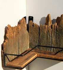 Reclaimed Wood Home Decor Reclaimed Wood U0026 Iron Corner Shelf Home Decor U0026 Lighting