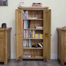 Dvd Storage Cabinets Wood by Tilson Solid Rustic Oak Furniture Cd Dvd Storage Cupboard