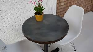 Zinc Bistro Table Small Zinc Bistro Table