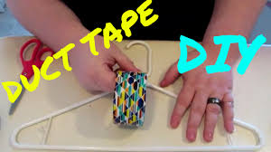 duct tape hanger diy dollar tree craft easy fun kids teens