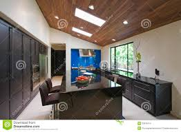 modern kitchen breakfast bar modern kitchen with breakfast bar stock images image 33906414