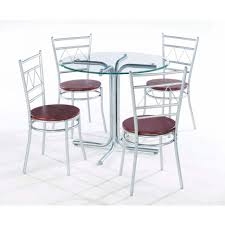 Glass Dining Table Sets by Dining Tables Round Glass Table Dining Glass Dining Table Sets