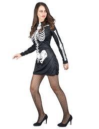 halloween skeleton costume for women