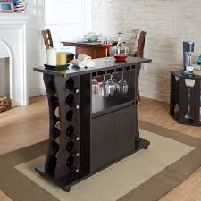 Buffet Furniture Modern by Furniture Of America Tiko Modern Espresso Buffet With Wine Rack