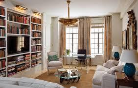 bureau bibliothèque intégré bibliothèque moderne qui intègre le téléviseur ou la cheminée décorative