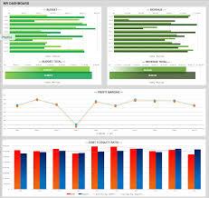 Dashboard Kpi Excel Template Free Dashboard Templates Sles Exles Smartsheet