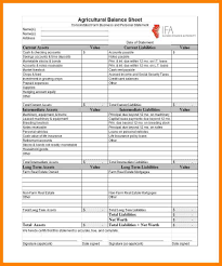Balance Sheet Template Excel 2013 by 10 Balance Sheet Template Addressing Letter