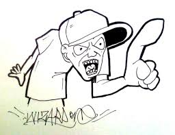 how to draw a graffiti character new 2015 youtube
