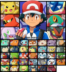 what would be the best ash u0027s team pokemon