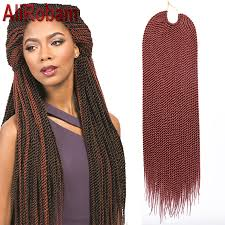 best hair for braid extensions promotion crochet twist hair box braid extensions 22inch 30strands
