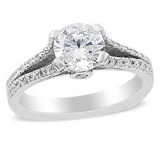 split band engagement rings gorgeous michael designs