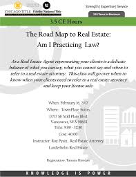 the road map to real estate am i practicing law ccar