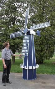 windmill yard decoration iron