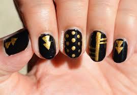 nails context trendy black nails