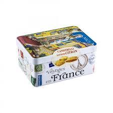 boite metal cuisine canistrelli saveur citron boîte métal vieux aelia duty free