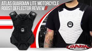 atlas guardian lite motorcycle roost deflector review