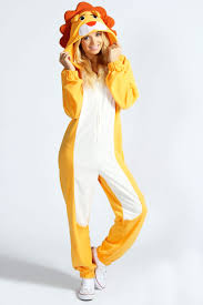 onesies for adults halloween lily lion animal onesie at boohoo com lets shop pinterest