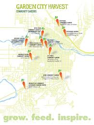 Map Of Missoula Montana by Community Gardens U2014 Garden City Harvest