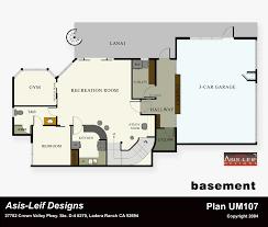 home plans with basement floor plans basement decoration