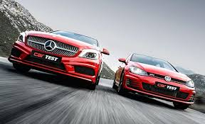 mercedes volkswagen mercedes a 250 vs vw gti by car magazine south africa