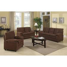 Sofa Set Walmart by Buchannan Microfiber 3 Piece Living Room Set Furniture Walmart